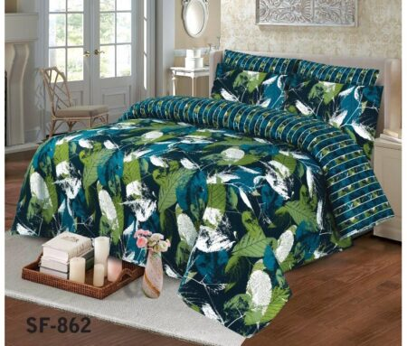 Green Leaf Comforter Set