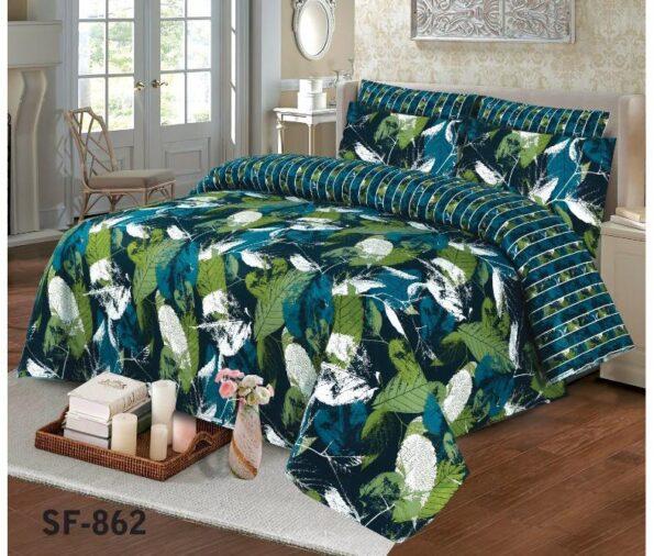 Green Leaf Comforter Set
