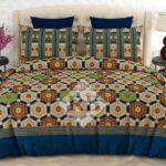Green Brown Comforter Set