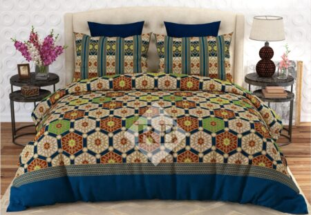 Green Brown Comforter Set