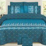 Green Pattern Comforter Set