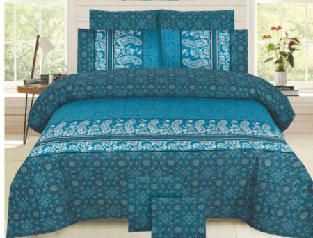 Green Pattern Comforter Set