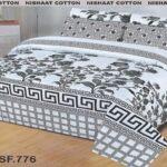 Grey Black Comforter Set ( 6 PCS – 8 PCS )