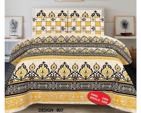Yellow Black Comforter Set