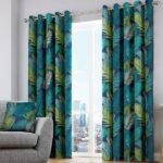 LEAF CURTAINS FOR WINDOW AND DOOR 60 X 90 INCHES EACH ( Set Of 2 Pieces )