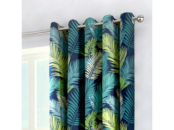LEAF CURTAINS FOR WINDOW AND DOOR 60 X 90 INCHES EACH ( Set Of 2 Pieces ) (2)