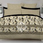 Print Bed Sheets with 2 Pillow Covers
