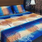 Tree Printed Bedding With 2 Pillow Covers – 3 PCS