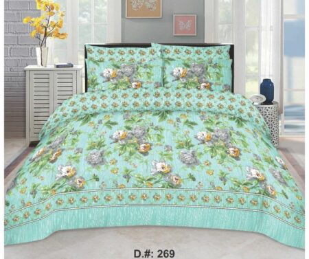 Ferozy Printed Bedding With 2 Pillow Covers
