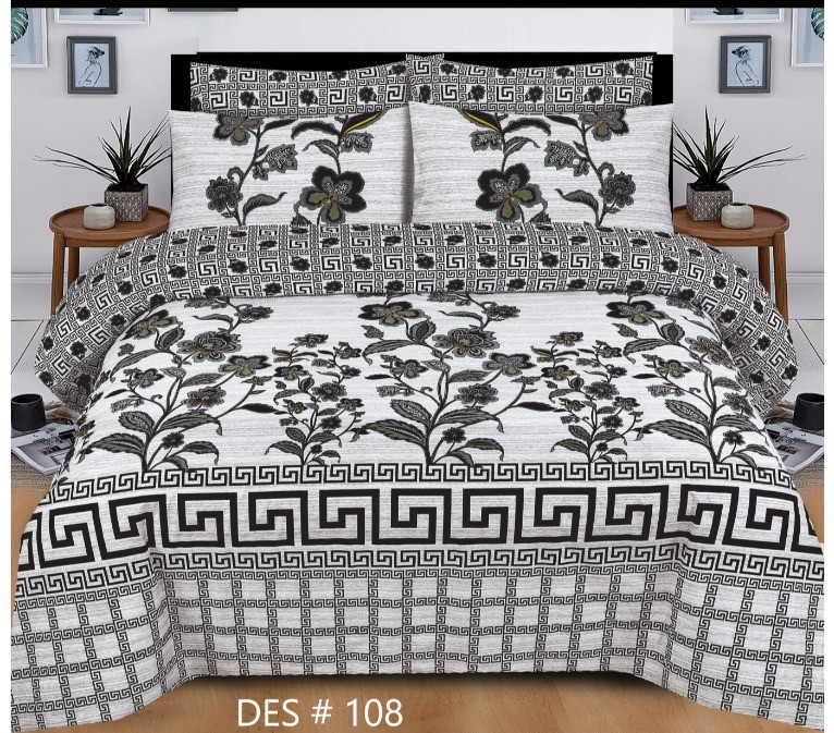 Greish Bedding With 2 Pillow Covers