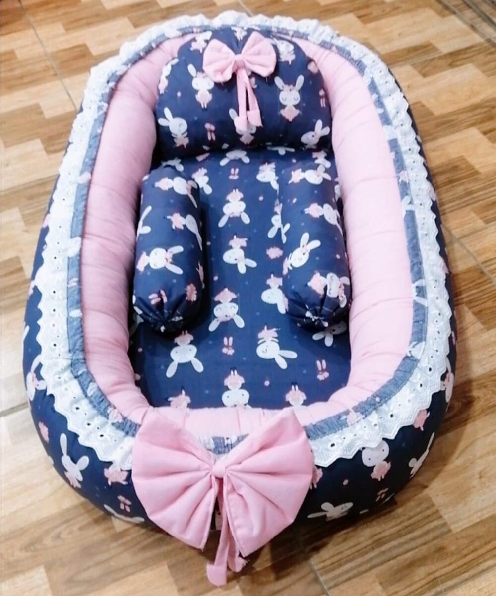 Blue Design Baby Nest - 5 PCS