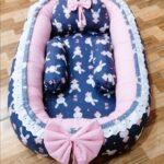 Blue Design Baby Nest – 5 PCS