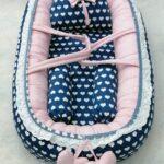 Heart Design Baby Nest – 5 PCS