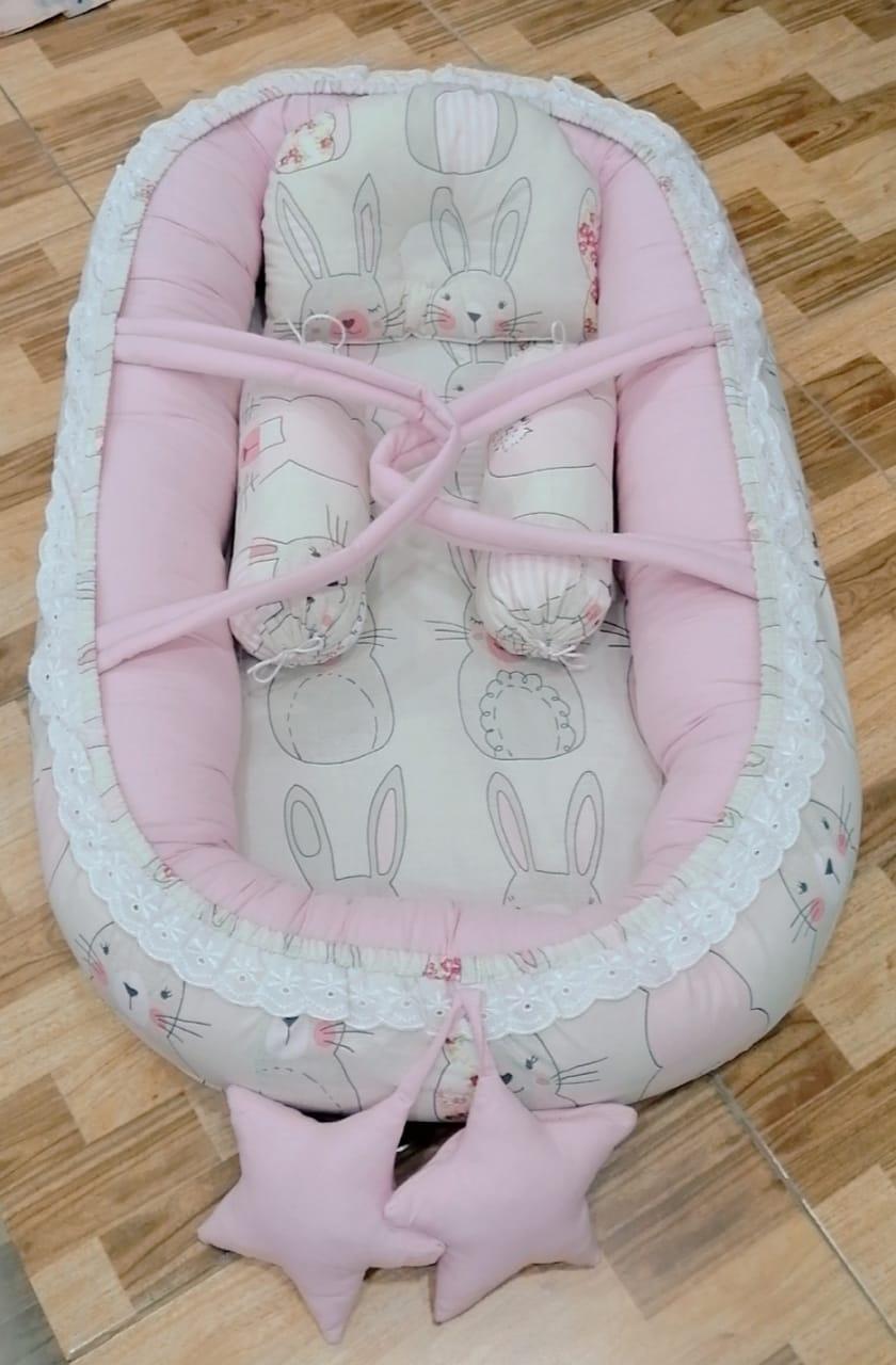 Rabbit Design Baby Nest - 5 PCS