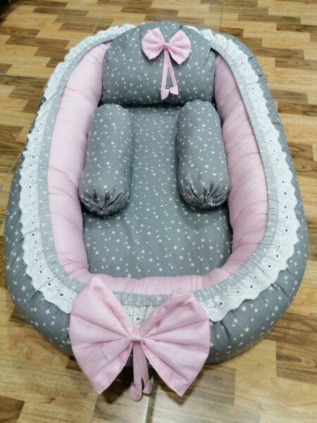 Stars Design Baby Nest - 5 PCS