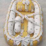 Yellow Rabbit Design Baby Nest – 5 PCS